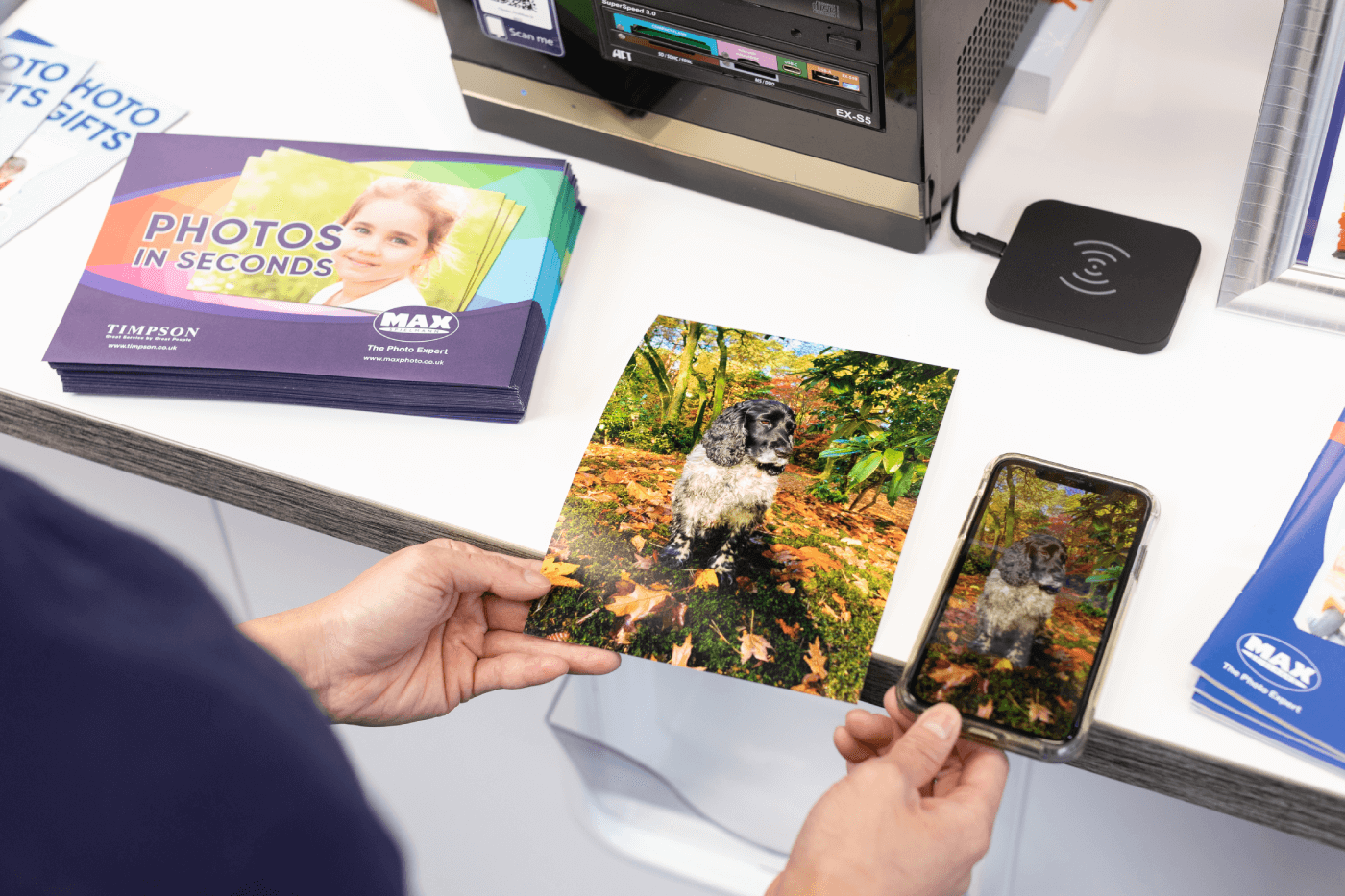 Photo printing with Johnsons
